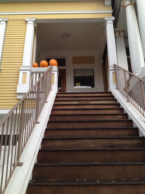 Cute house entrance, Eureka Valley