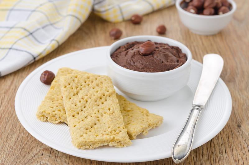 Вафли, манник, овсяное печенье и два рецепта с нутом chocolate-hazelnut paste and chickpeas crackers