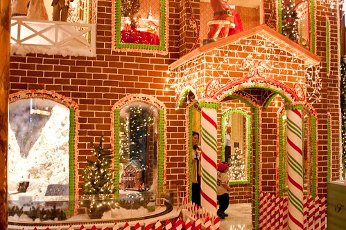 Gingerbread House at the Fairmont Hotel, San Francisco