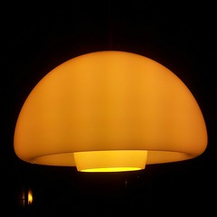 Gul lampe
