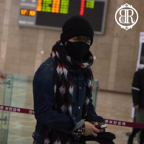 Big Bang - Gimpo Airport - 15jan2015 - Seung Ri - BB Rhythm - 01