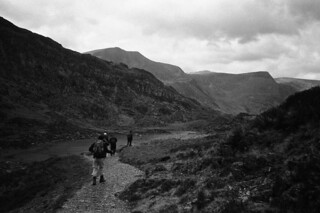 Gentle stroll down from Tryfan
