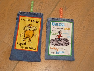Lorax Kiddie Door Pouches