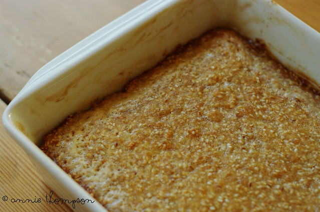 Honeyed Seed Cake