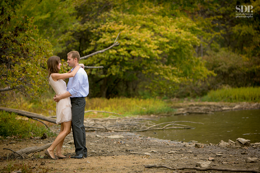Shawnee Mission Park engagement session