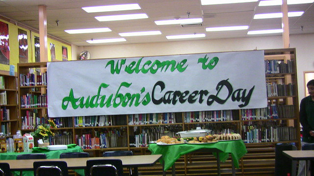 2009-5-6「A Lecture for Audubon Middle School's Career Day」