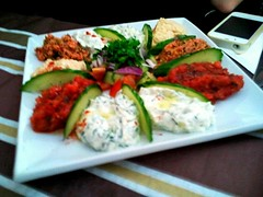 Meze at Angora Turkish Restaurant in London