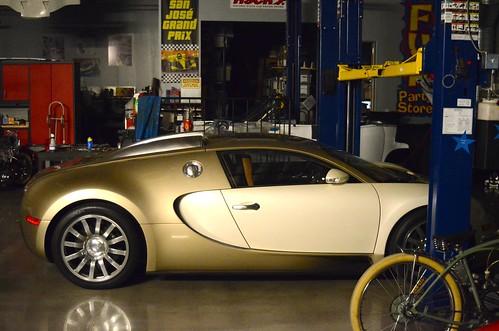 2008 Bugatti Veyron.