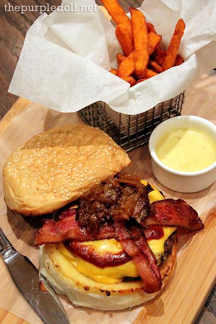 Cowboy Burger P595