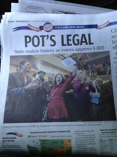Pot's Legal in WA State by DRheins