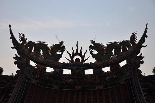 草嶺古道-大里天公廟