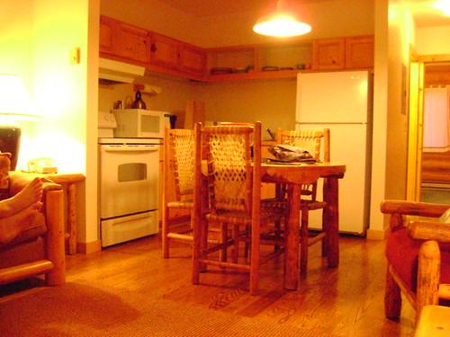Teton Cabin Kitchen