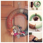 Fall Yarn Wreath Tutorial