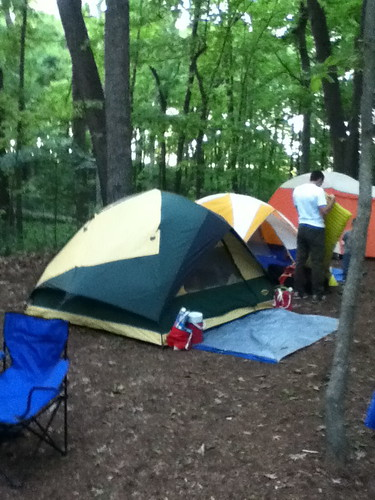 Father and Sons Campout May 2012