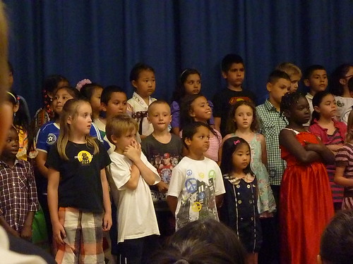 Singing in school May 2012