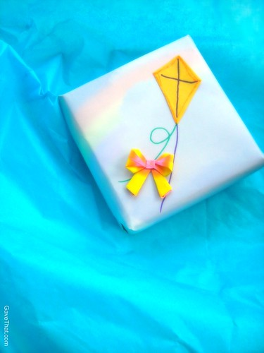 Up and Away Gift Wrap