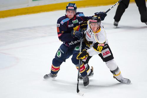Kamp mellan Mikael Backlund och Erik Gustafsson