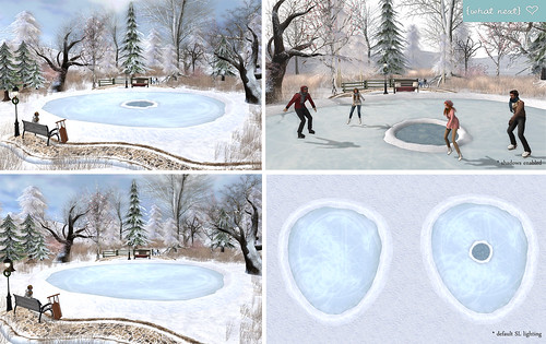 {what next} Winter Iced-Over Pond (Mesh) - Updated