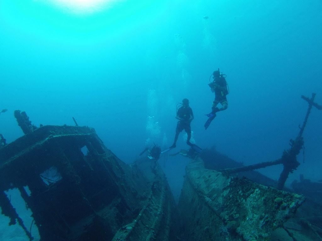 Cooper Island Wreck Alley BVI