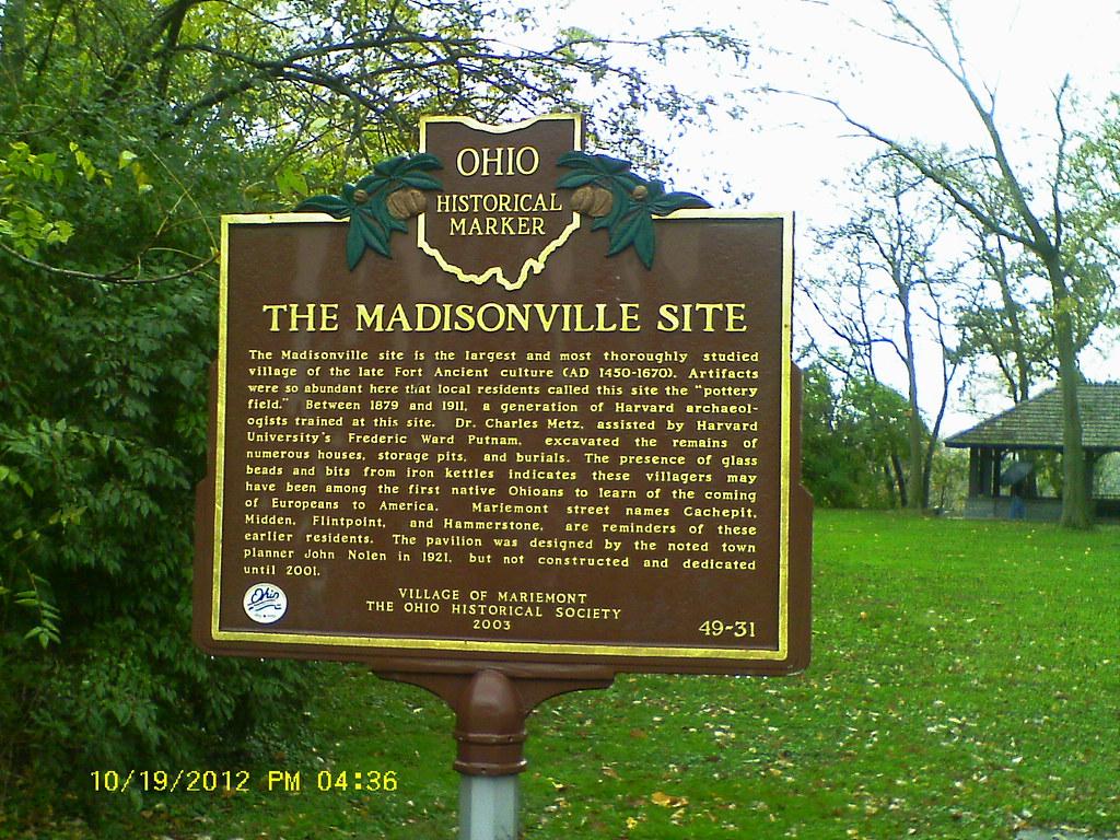Mariemont Gardens Park Map Hamilton County Ohio Mapcarta