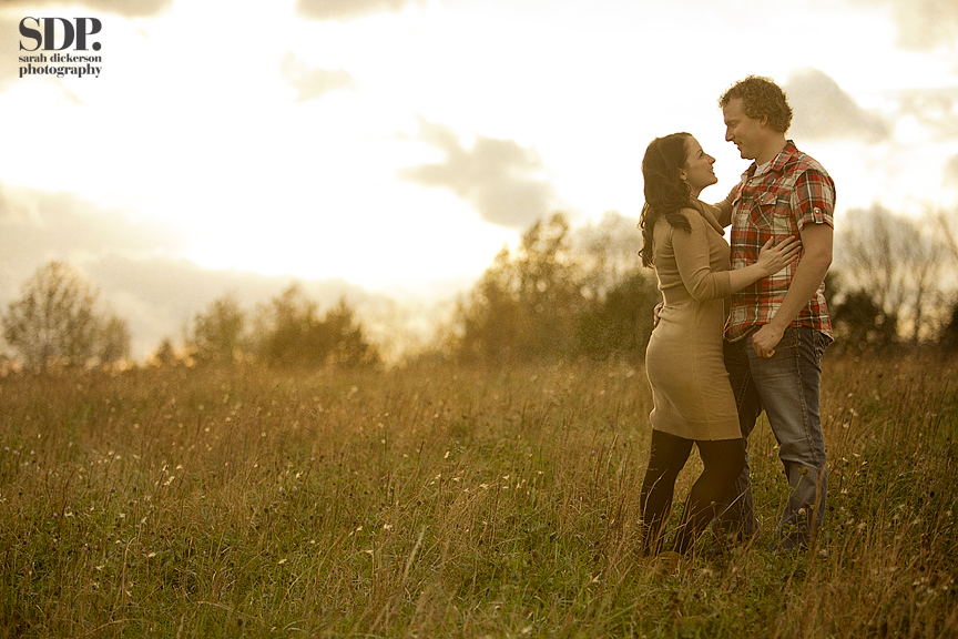 Liberty Missouri engagement session