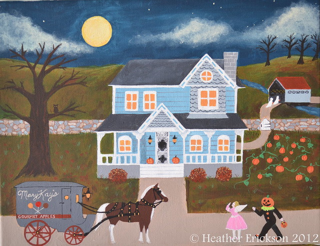Halloween Night by Heather Erickson