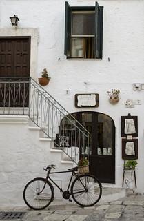 La bicicletta più fotografata di Ostuni