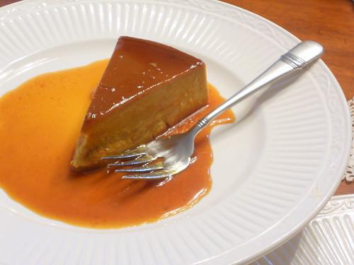 Caramel Pumpkin Latte Flan