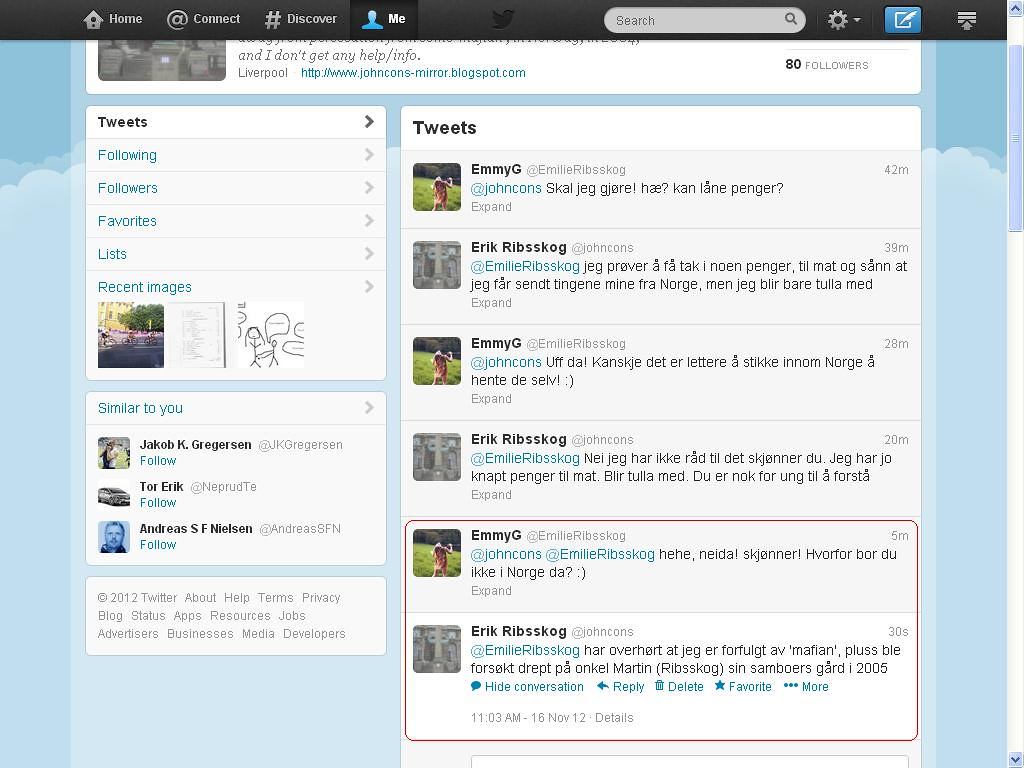 mer fra twitter 2005