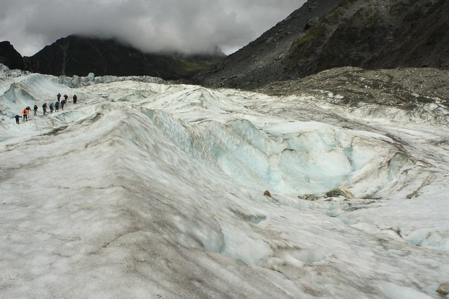 On Fox Glacier