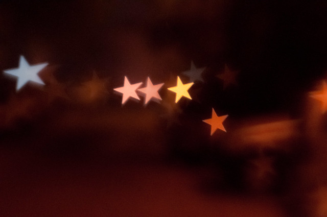 Star shaped Bokeh