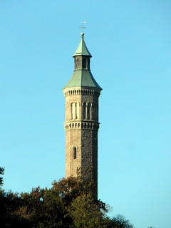 Image of High Bridge Water Tower near Bronx. newyork