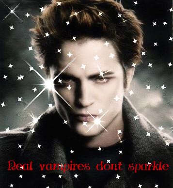 Vampiro de verdade não brilha