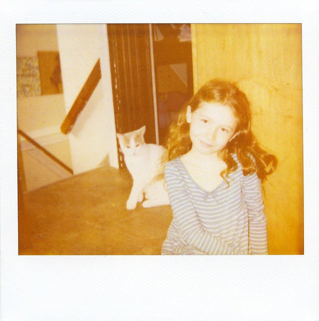 polaroid - Ellie + Mr Giggles