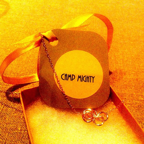 I leave here feeling like I can do the five things these rings represent, and anything else It feels good. #campmighty #gomighty
