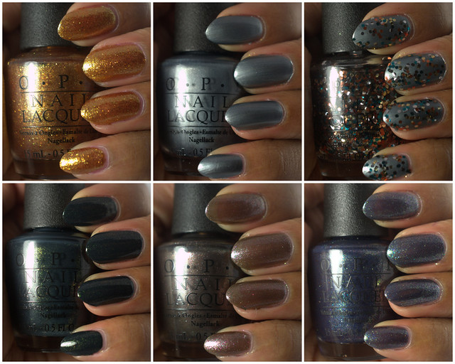 Amor de Lacquer: OPI Skyfall collection for Holiday 2012, part II