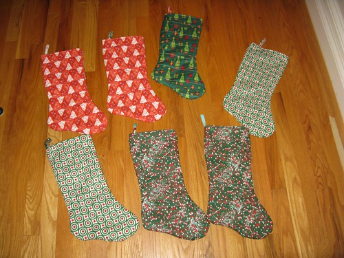 Stockings for Operation Christmas Stocking