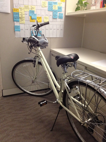 Bike in the office