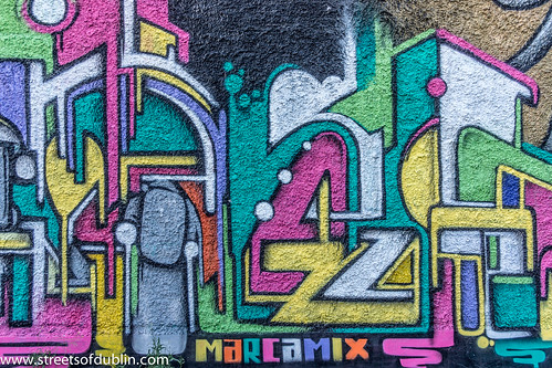 Graffiti And Street Art - Dublin Docklands by infomatique