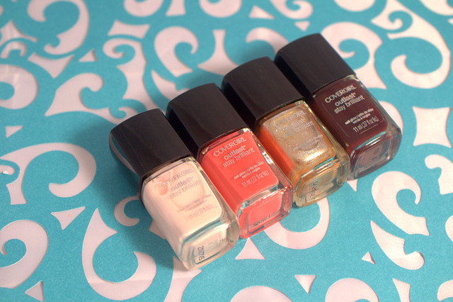 New on the scene: CoverGirl Outlast Stay Brilliant Nail Gloss polishes
