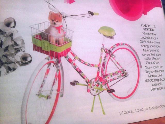 alice olivia bike
