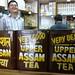 Jolly tea vendor in Kathmandu