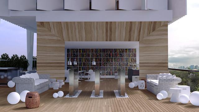 Wonder bar and Library