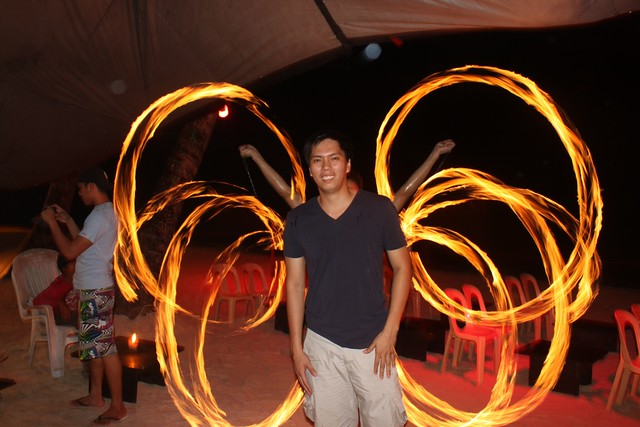 Top Ten Things to Do in Boracay, Boracay fire dancers