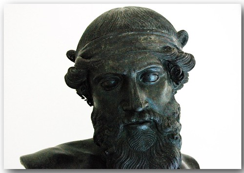 Bust of Dionysus. by Hans Ollermann