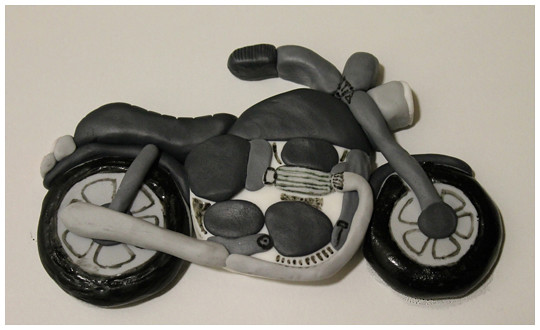 motorbike cake topper flickr   photo sharing