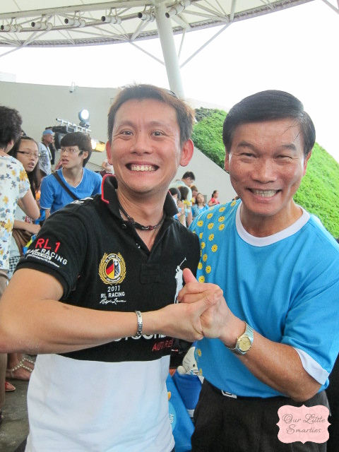 Venneth & Mr. Yam Ah Mee