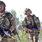 TA Reservist Soldiers on Exercise in Italy