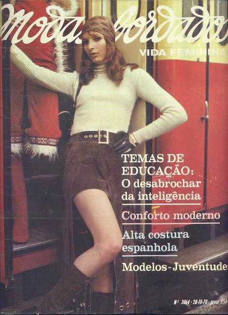 Modas e Bordados, Nº 3064, Outubro 28 1970 - capa