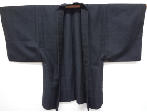 Black and Blue Mens Haori